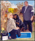 Gates getting some love from his Judge, at Monroe K.C., on 9-26-04, taking Best of Breed over top specials for 2 pts, from the 6-9 month puppy class, handled by Rodger Freeman, under Judge Ms. Angela J. Porpora