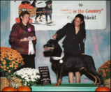 """Kody"" taking BOSV Sweeps at the MRC Specialty on 10/12/07, handled by Lynette"