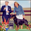 Turner & Norma Smith taking Winners, giving Turner her 3rd major, at the Kalamazoo K.C., on 5-29-05